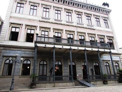 Visita ao Palácio do Catete - Museu da República no Rio de Janeiro