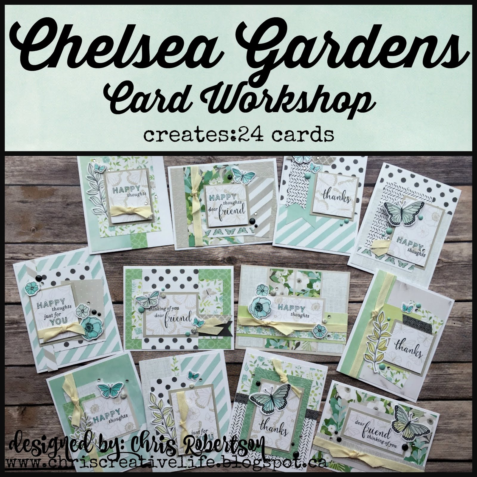 Chelsea Garden Cardmaking Workshop