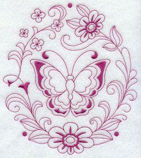 wzory haftow vintage