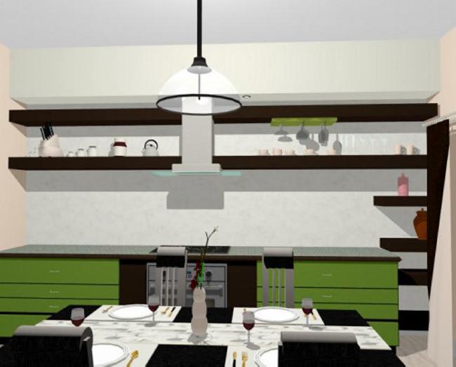 Design interior bucatarie Bucuresti
