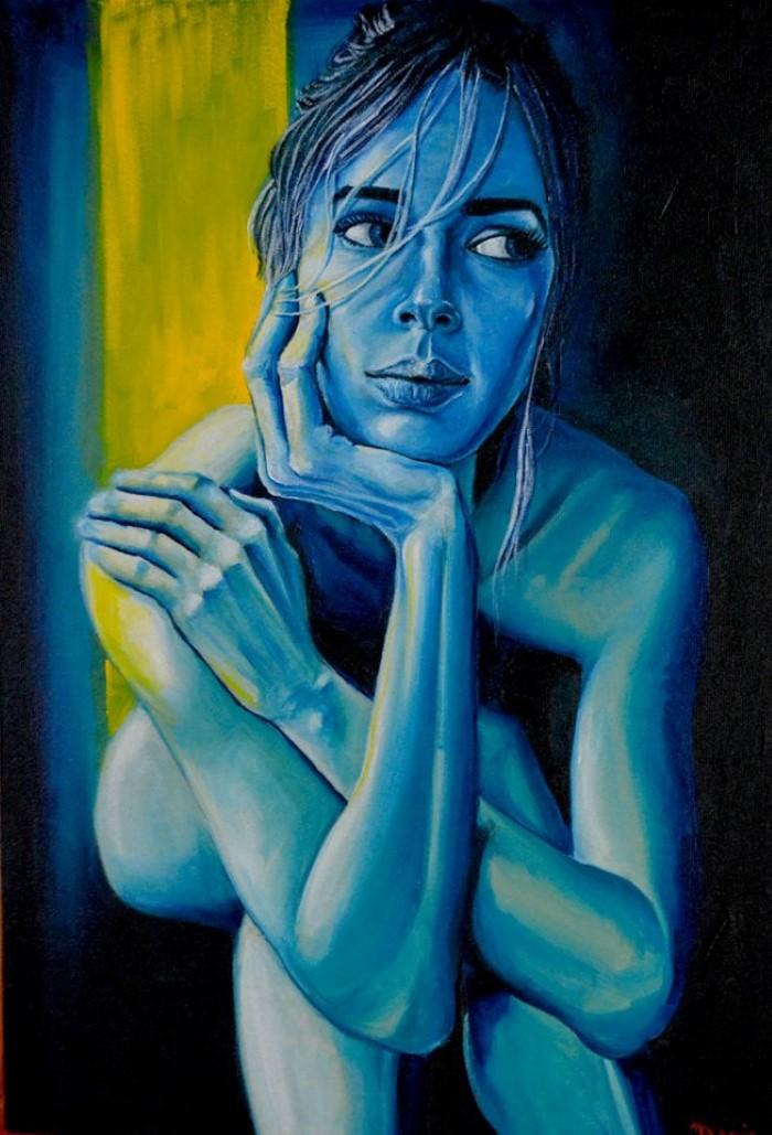 Перуанский художник. David Mendoza