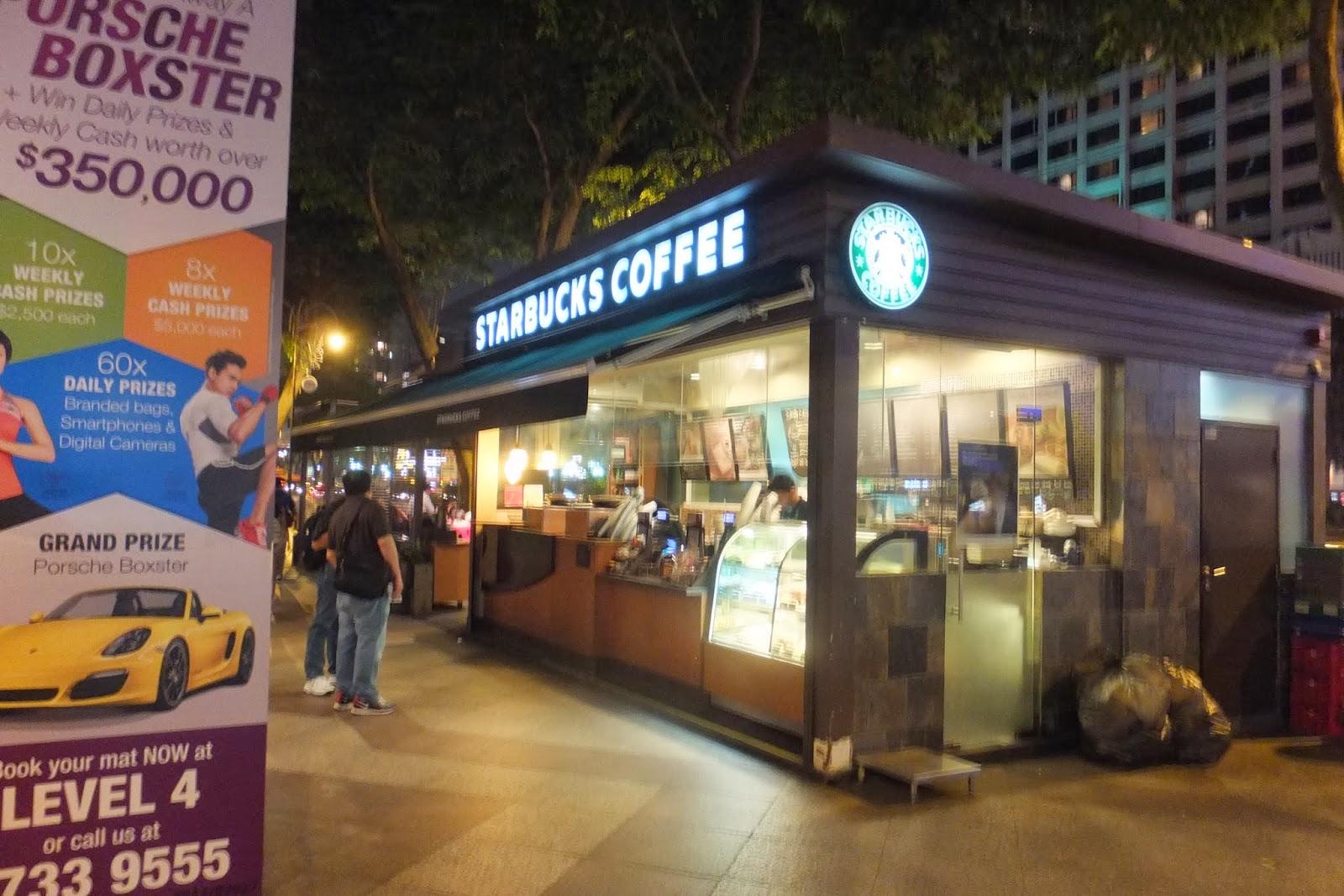 singapore-starbuckscoffee シンガポールスターバックスコーヒー