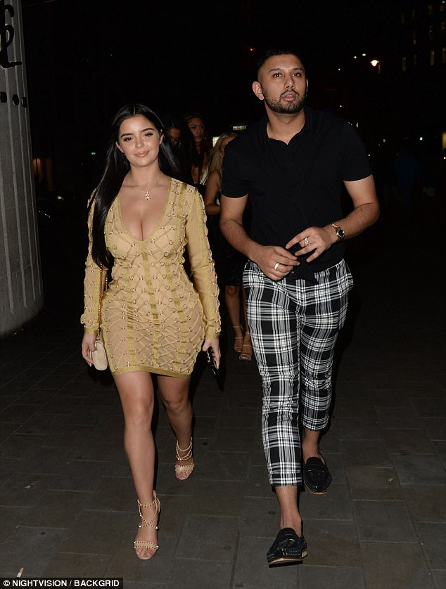 Demi Rose bares hourglass curves out and about in London