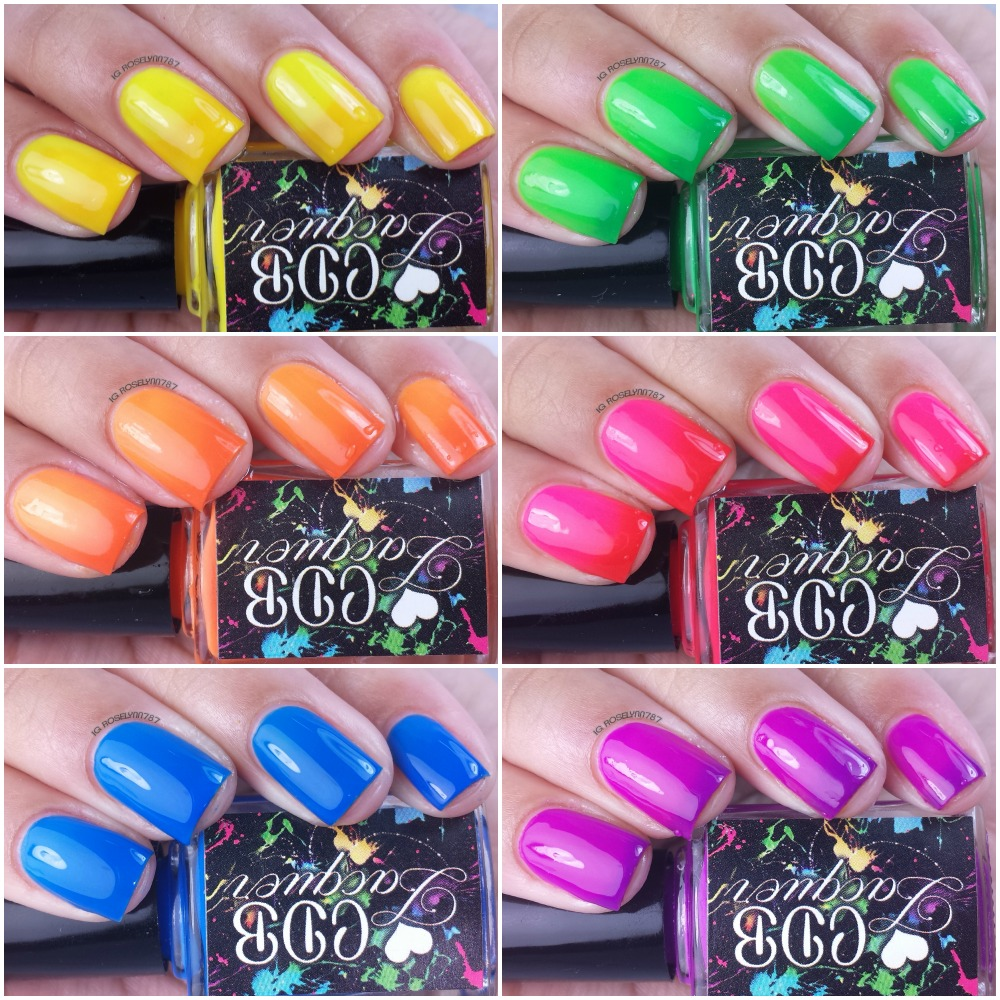 CDB Lacquer - Summer Rainbow Thermals
