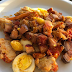 Lagosta + bacon artesanal + ovos caipira + ghee