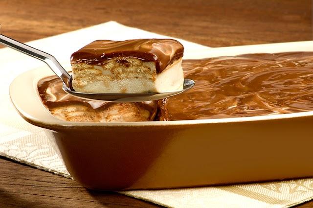 Aprenda a fazer um delicioso Pavê de Banana Caramelizada Com Chocolate
