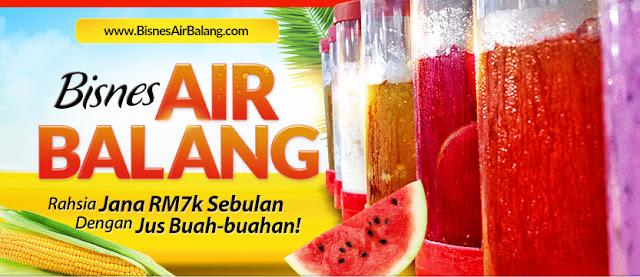 Bisnes Air Balang Ramadhan Akan Datang