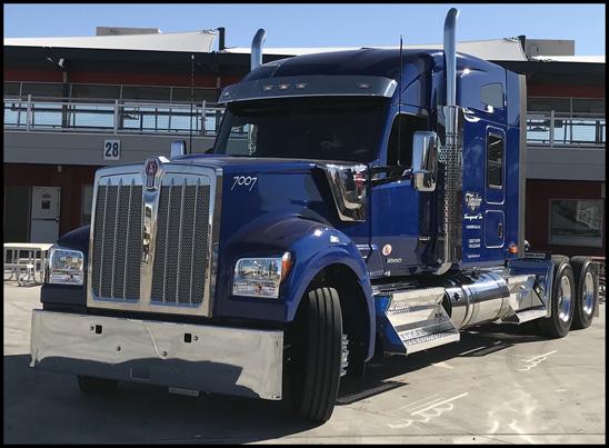 Taylor Transport Kenworth W990