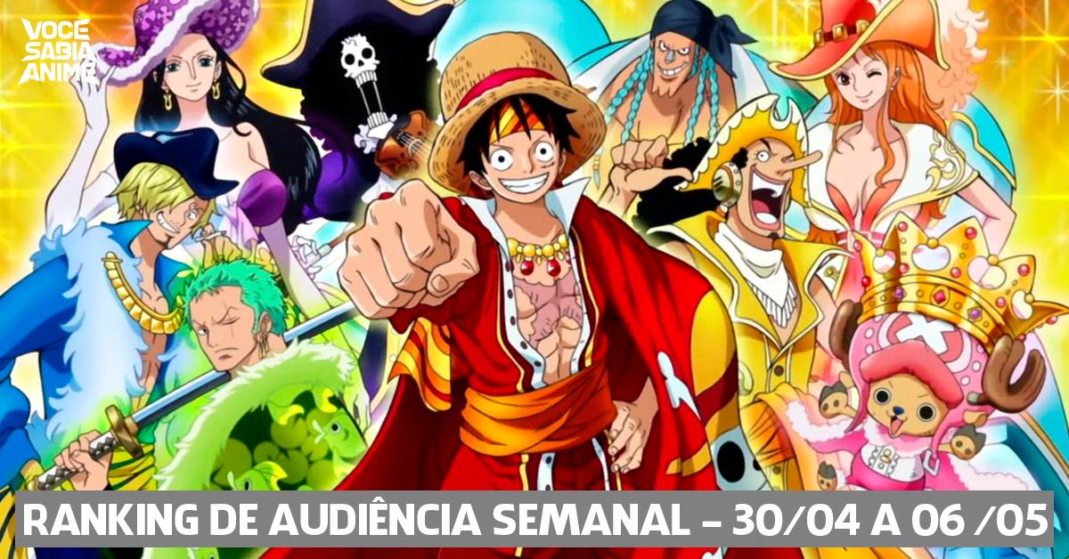 Ranking de Audiência Semanal - 30-04 a 06-05