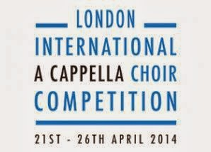 London International A Cappella Choir Competition logo