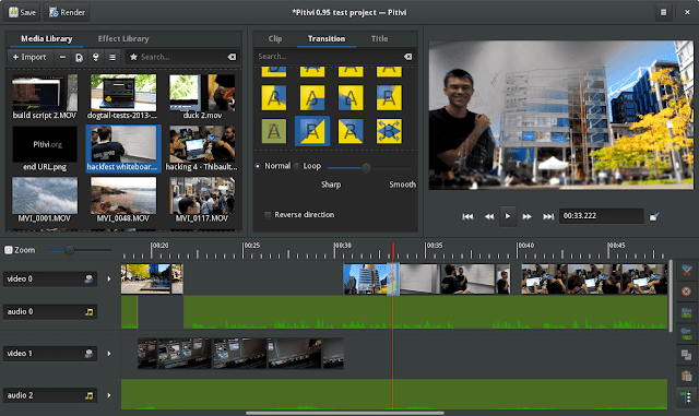 PiTiVi - Final cut pro x alternative