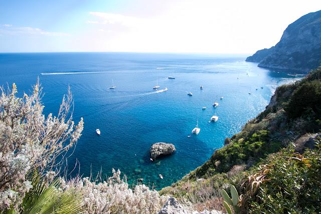 Vista dalla Certosa di San Giacomo-Capri