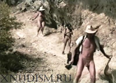 Семейный натурализм, фильм о семейном нудизме на курорте в Крыму на природе и нудистском пляже