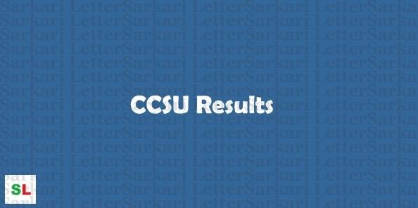 CCSU Exam Result 2019
