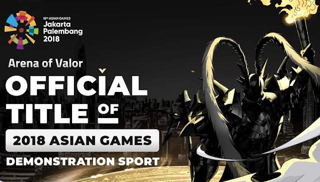 HEBAT! Game MOBA Mobile Arena Of Valor (AOV) Masuk Asian Games 2018