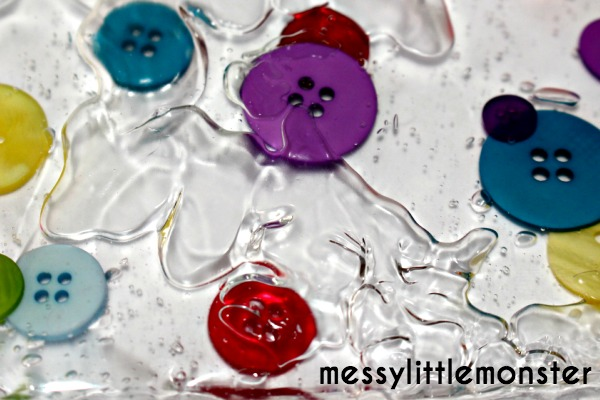 how to make button sensory bags for babies and toddlers using laminator pouch