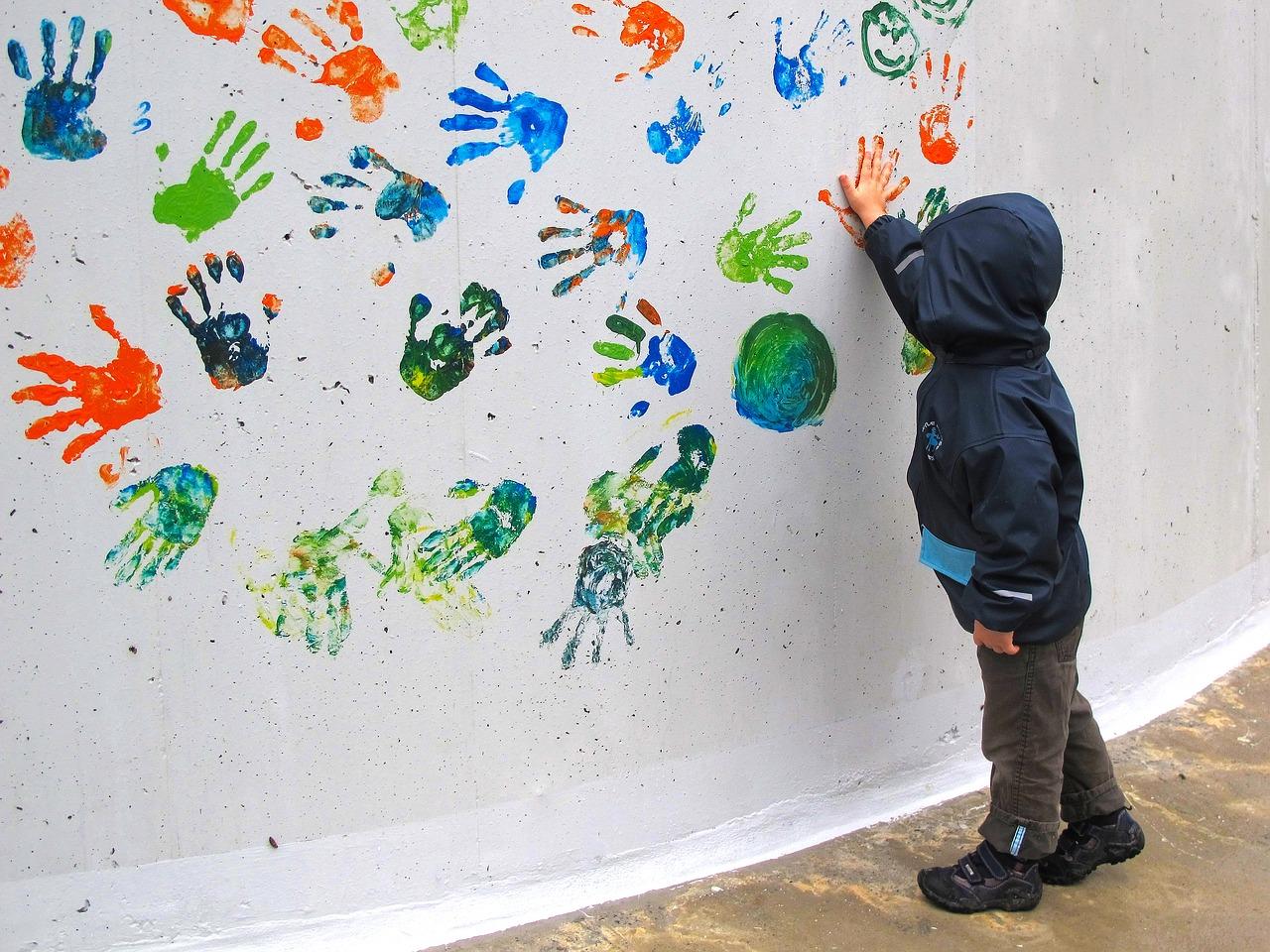 Cara Membuat Dan Bermain Finger Painting Untuk Anak Usia Dini