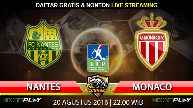 Prediksi Nantes vs Monaco 20 Agustus 2016 (Liga Prancis)