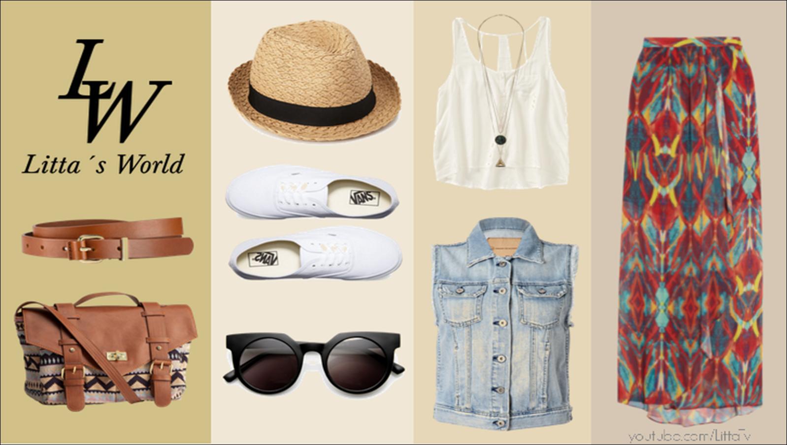Como Vestir En Un Dia Soleado Con Tenis Y Falda Outfit