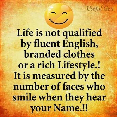 Life Is Not Qualified By Fluent English Inspirational Life Quotes