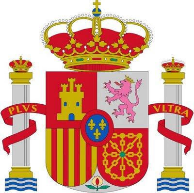 Dibujo del Escudo de España a colores para niños