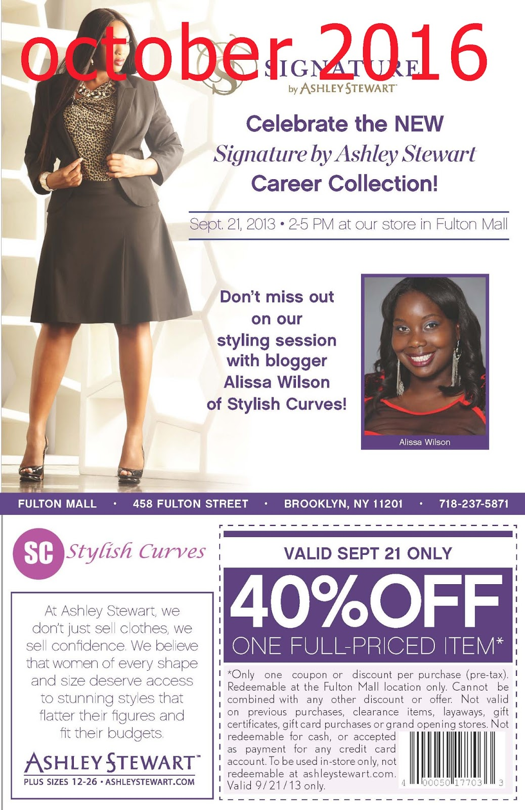 Ashley maria coupon code