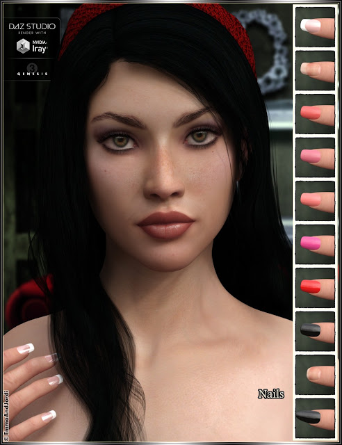 EJ Elmira for Genesis 3 Female