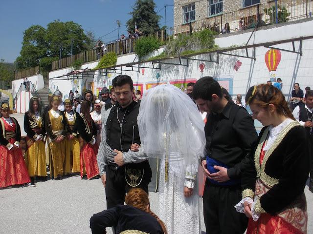 Οι Πόντιοι του Ζυγού αναβίωσαν το έθιμο του Ποντιακού γάμου