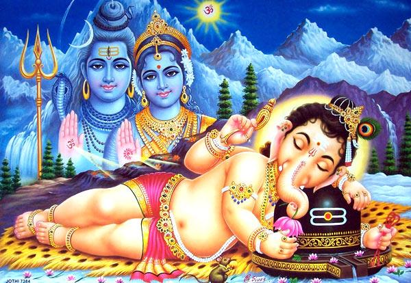 Lord Shiva Ganesha Images