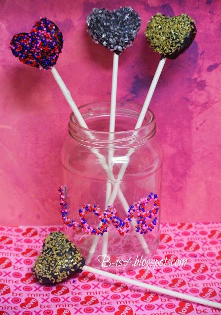 Cake Pops, Heart Cake Pops