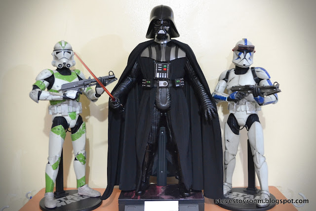 Hot Toys Sideshow Darth Vader Clone Troopers