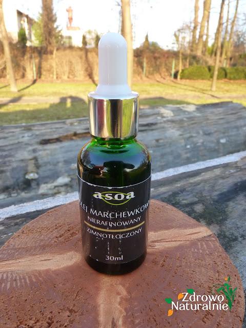 Asoa - Olej marchewkowy nierafinowany