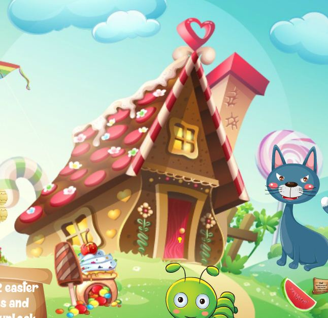 HiddenFan Easter Candyland Walkthrough