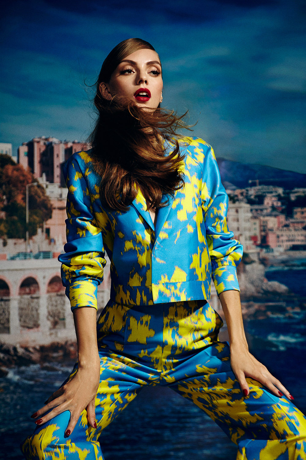 French Riviera Fashion Editorial Photoshoot for L'Officiel ...