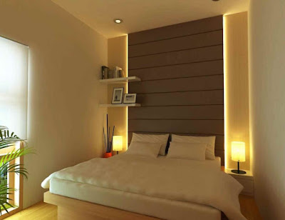 model kamar tidur sederhana terbaru
