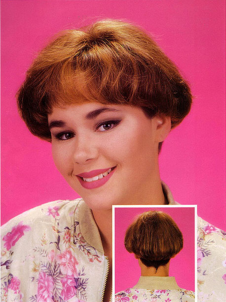 Celebrity Hairstyle: Wedges From The 80's