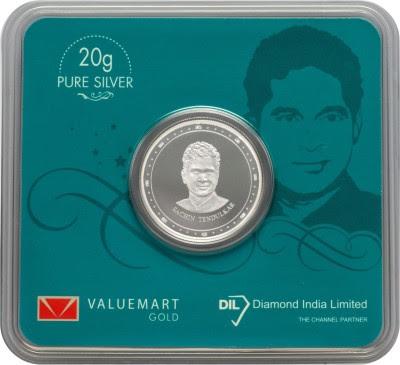 Dil Sachin Tendulkar S 999 20 g Silver Coin