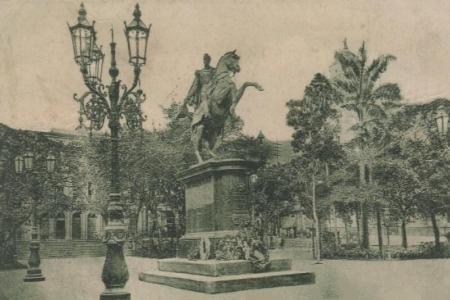 Caracas Vieja Plaza Bolívar