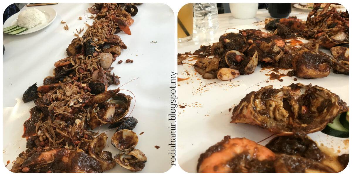 Seafood sedap
