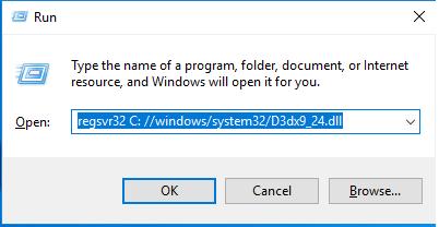 Télécharger D3dx9_24.dll Fichier Gratuit Installer