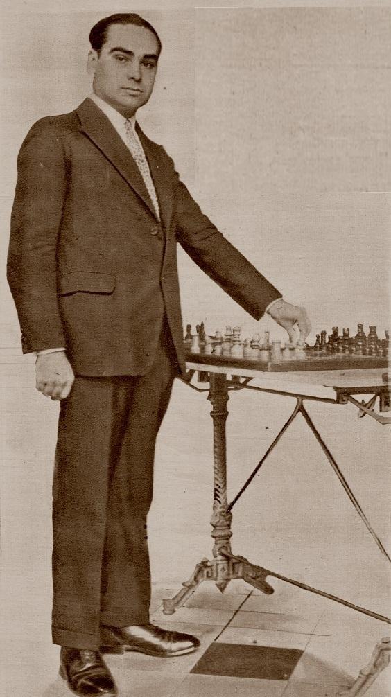 El ajedrecista Josep Vilardebó i Picurena en 1928