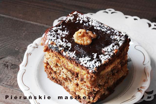 najlepsze ciasto orzechowe