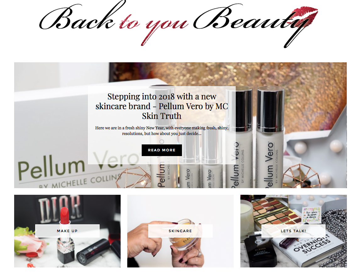 Introduction to Back to You Beauty blog \ beauty \ skincare \ makeup \ 40 plus blogger \ Over 40