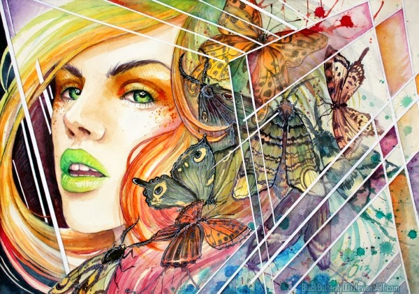 Today I Have Collected Some The Random Watercolor Paintings By 25 Talented Artists Hope You Like These And A Great Time Browsing