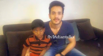 Actor -Akkineni -Akhil- Turn- As -Auto- Driver