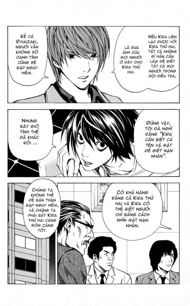 Death Note chapter 028 trang 14