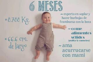 desarrollo del bebe - 6 meses
