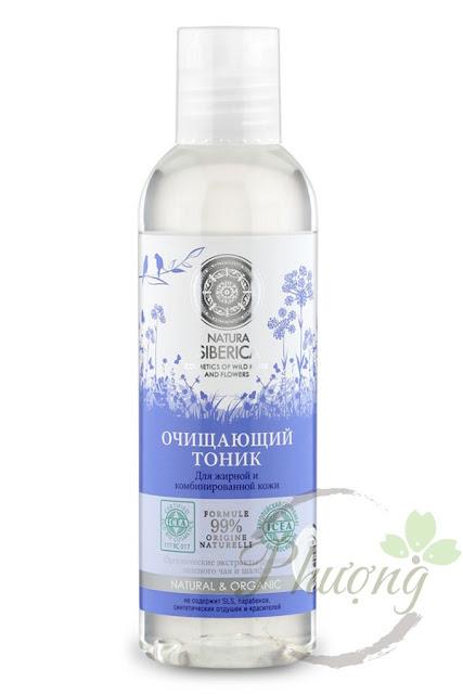 Toner Natura Siberica dành cho da dầu và da hỗn hợp