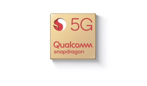 Imagem do precessador 5g da  Qualcomm