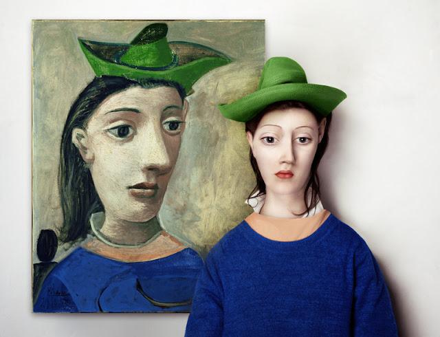 Pablo Picasso (1881 - 1973) - Mulher com chapéu verde
